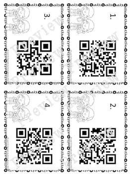Sh and Ch Digraph  QR Codes