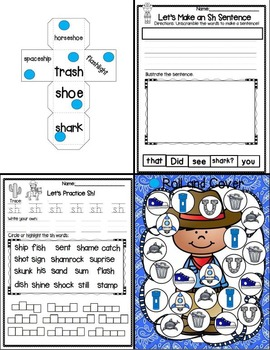 "Sh is for Sheriff (A Digraph ""SH"" Unit)"