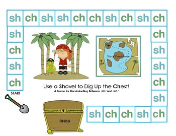 Sh versus Ch Discrimination: a Multisensory Minilesson, Sort, and Game