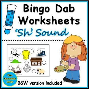 Sh-words Bingo Dab