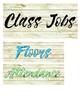 Shabby & Bright Classroom Jobs