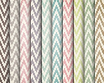 Shabby Chevron Papers, Shabby, Chevron, Set #241