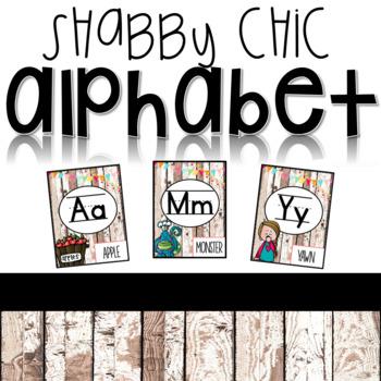 Shabby Chic Alphabet