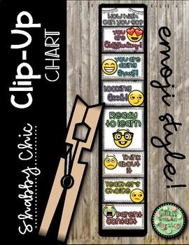 Shabby Chic Behavior Clip-Up Chart