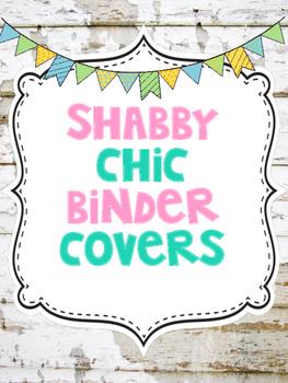 Shabby Chic Binder Covers