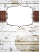 Shabby Chic Binder Covers- EDITABLE