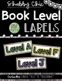 Shabby Chic Book Level Labels