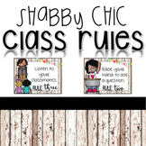Shabby Chic Class Rules