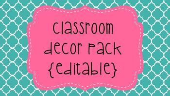 Shabby Chic Classroom Decor