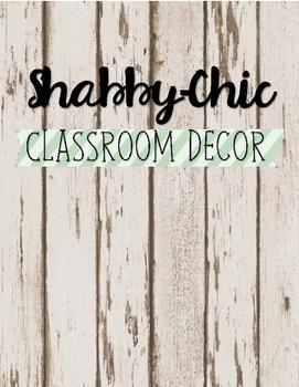 Shabby-Chic Classroom Decor