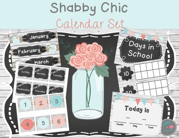 Shabby Chic Classroom Decor Bundle