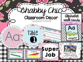 Shabby Chic-Classroom Decorations