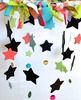 Shabby Chic Classroom Names/Birthdays Mobile- Chalkboard stars & painted stars