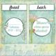 Shabby Chic Flowers Editable 12 month Calendar -Teacher Planner- PowerPoint 2016