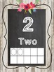 Shabby Chic/Farmhouse Floral Number Posters 1-10