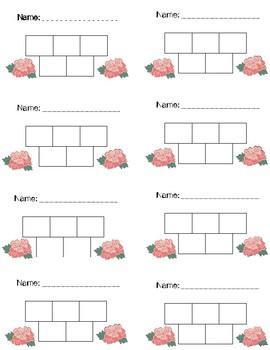 Shabby Chic/Farmhouse Themed Sticker Charts
