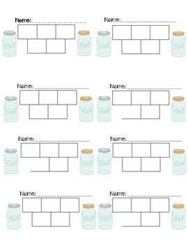 Shabby Chic/Farmhouse Themed Sticker Charts