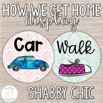 Shabby Chic How We Go Home Display