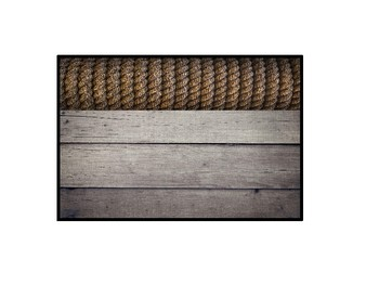 Shabby Chic Knotty Rope Locker Sign
