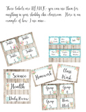 Shabby Chic Labels - Fully Customizable
