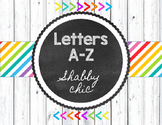 Shabby Chic Letters A-Z