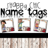 Shabby Chic Name Tags
