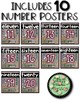 Shabby Chic Number Sense Posters SET 2