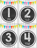 Shabby Chic Numbers 1-24