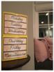 Shabby Chic Sterilite 3 Drawer Labels