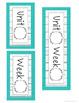 EDITABLE Shabby Chic Subject Banners and Headers