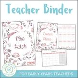 Teacher Planner 2018 - Binder for Australian Teachers