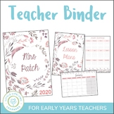Teacher Planner 2019 - Binder for Australian Teachers
