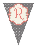 Shabby Chic (Teal, Gray & Coral) Reading Banner