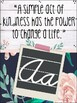 Shabby-Chic Themed Kindness Alphabet Posters