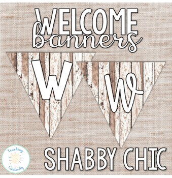 Shabby Chic Welcome to Our Classroom Banner