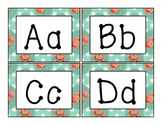 Shabby Chic Word Wall Alphabet Headings