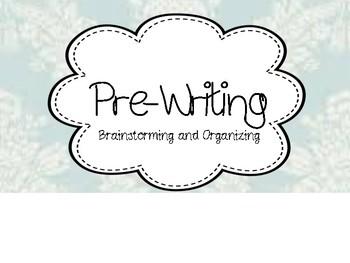 Shabby Chic Writing Process Clip Chart