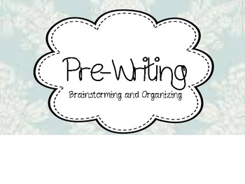 Shabby Chic Writing Process Clip Chart