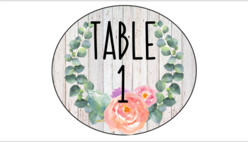 Shabby Chic and Rae Dunn Inspired Classroom Decor Pack