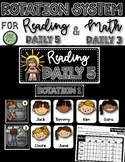 Shabby Style Daily 5/Daily 3 Rotation System