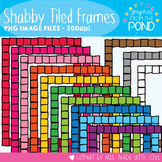 Shabby Tiled Frames - Graphics From the Pond