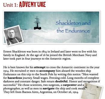 Shackleton and Endurance - A Multi Media Introduction