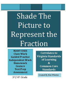 Shade in the Fraction to Represent the Mixed Number