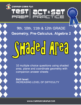 Shaded Area - CST ACT SAT Test Prep Questions