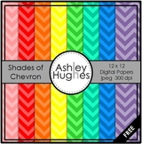 FREE Shades of Chevron {12x12 Digital Papers for Commercial Use}