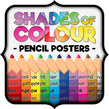 Shades of Color - 10 Pencil Posters