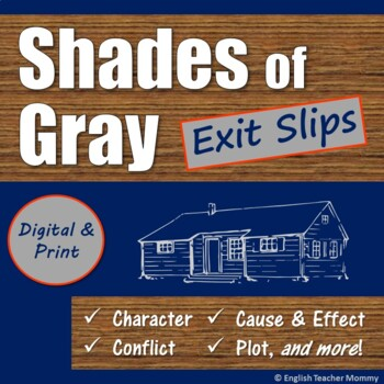 Shades of Gray Exit Slips