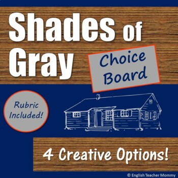 Shades of Gray Novel Writing Projects