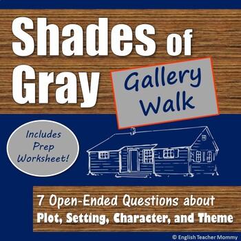 Shades of Gray Novel Gallery Walk