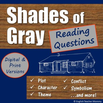 Shades of Gray Novel Reading Questions